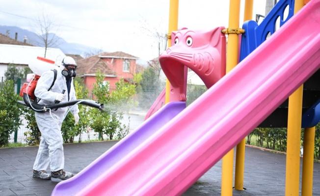 Kartepe'de parklar gençleri bekliyor