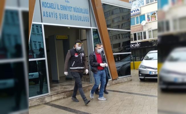 Kocaeli'de hırsızlık şüphelisi yakalandı