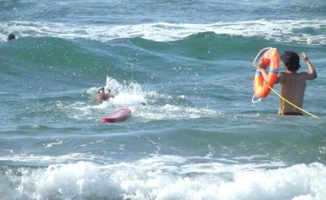 36 kişi boğulmaktan son anda kurtarıldı