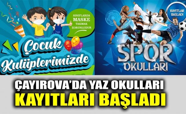 Çayırova'da Yaz Okulları kayıtları başladı