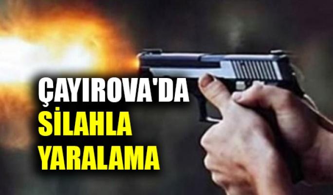 Çayırova'da silahla yaralama