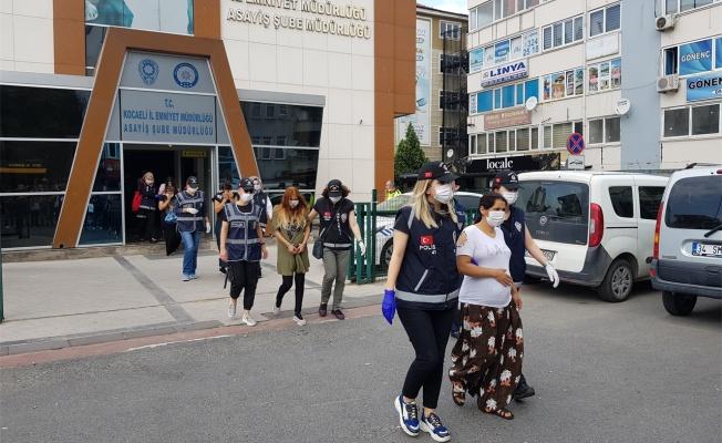 İstanbul'dan Kocaeli'ye gelerek hırsızlık yaptıkları öne sürülen 6 şüpheli yakalandı