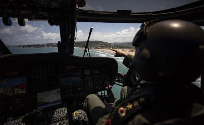Jandarma sahil bantlarında denetim yapıyor