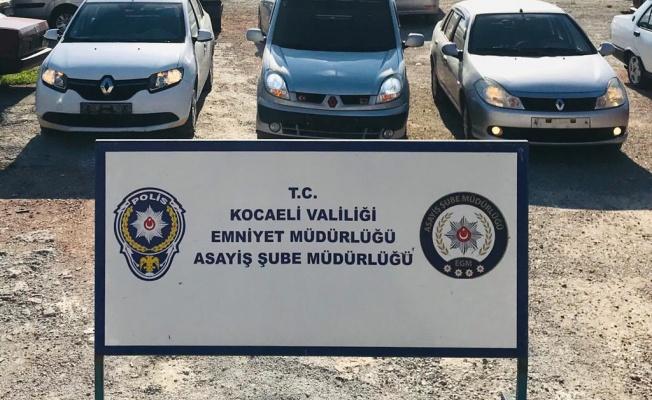 Kocaeli'de change otomobil operasyonunda gözaltına alınan 2 kişi tutuklandı