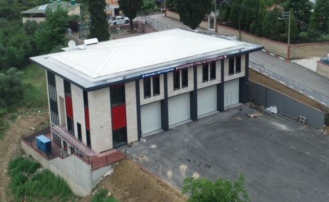 Kocaeli İtfaiyesi'ne yeni müfreze binası