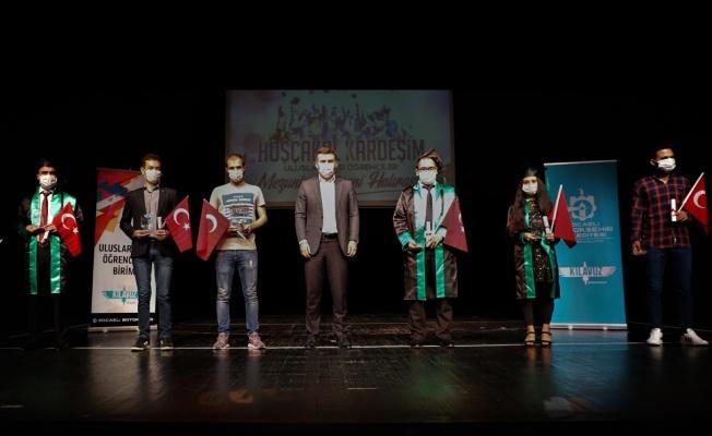 Kocaeli'de okuyan uluslararası öğrenciler için 'Hoşça kal kardeşim' mezuniyet programı