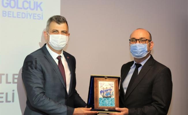 Sağlıklı Kentler Birliği Müdürü'nden Başkan Sezer'e ziyaret