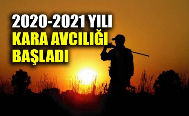 2020-2021 yılı kara avcılığı başladı