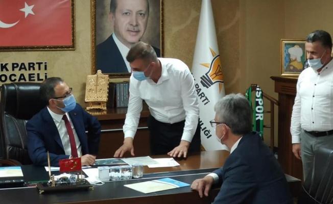 Başkan Sezer Gölcük için önemli projeyi Bakan Kasapoğlu ile görüştü