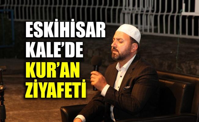 Eskihisar Kale'de Kur'an ziyafeti