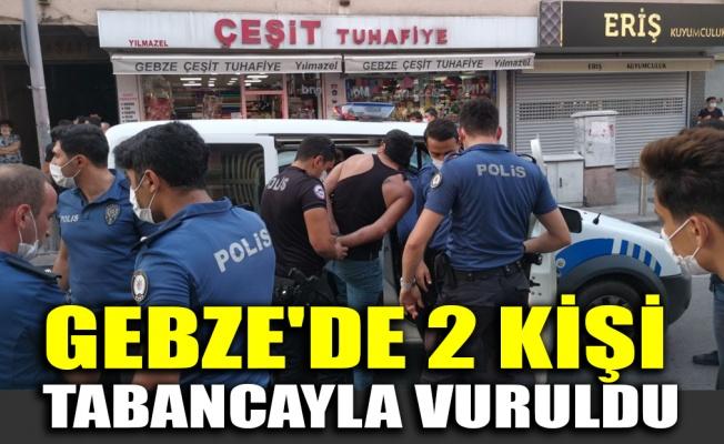 Gebze'de 2 kişi tabancayla vuruldu