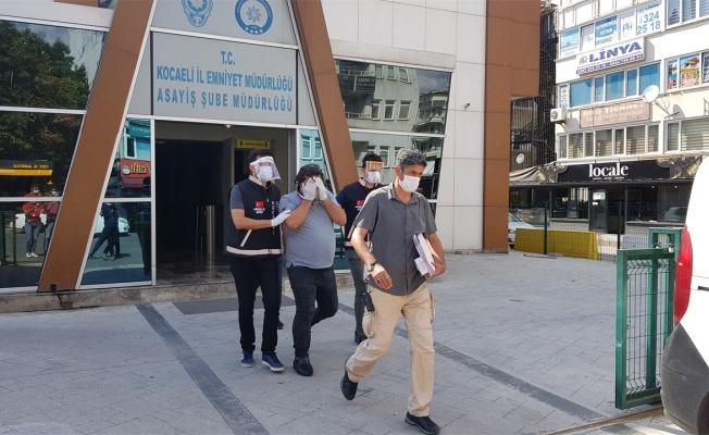 Kocaeli'de otelde kalan kişinin parasını ve otomobilini çalan zanlı yakalandı