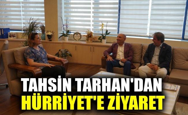 Tarhan'dan, Hürriyet'e ziyaret
