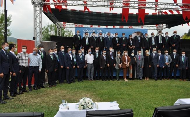 AK Parti Gölcük İlçe Teşkilatı 7. Olağan Kongresi yapıldı