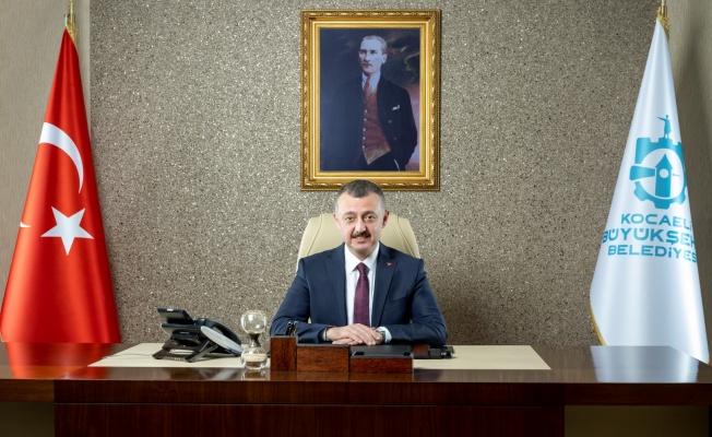 Başkan Büyükakın: Kocaeli'nin alev savaşçıları 7/24 işbaşında