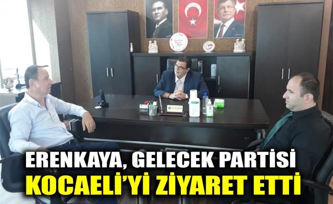 Erenkaya, Gelecek Partisi Kocaeli'yi ziyaret etti