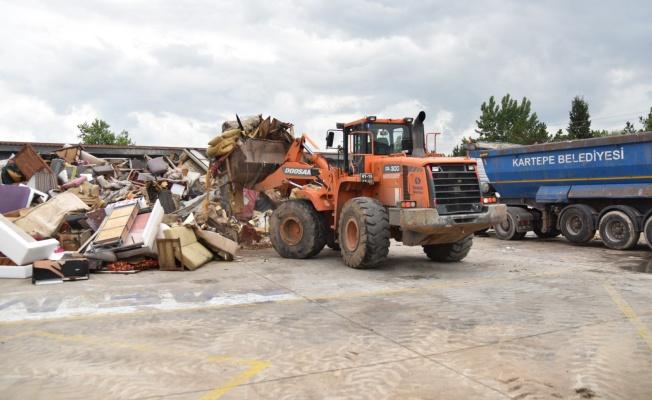 Kartepe'de 10 ayda 150 ton iri hacimli atık toplandı