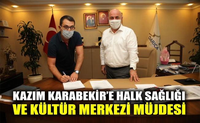 Kazım Karabekir'e Halk Sağlığı ve Kültür Merkezi müjdesi