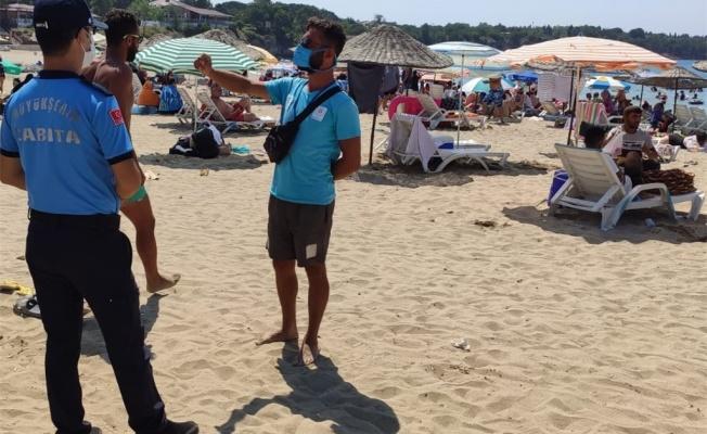 Plajlardaki denetimler devam ediyor