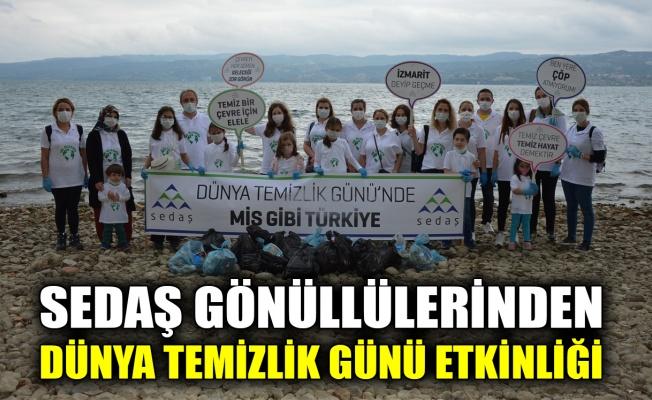 SEDAŞ Gönüllüleri'nden Dünya Temizlik Günü etkinliği