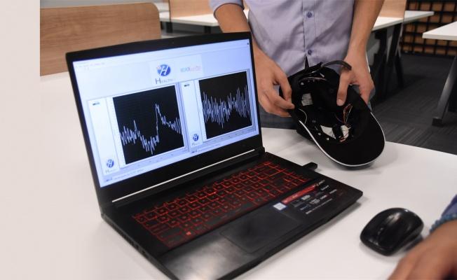 Üniversiteli gençler şapkadan epilepsi tanısı ve takibi yapan cihaz geliştirdi