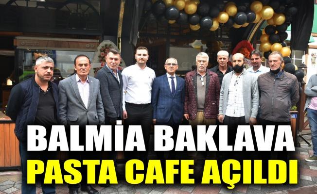 Balmia Baklava Pasta Cafe açıldı