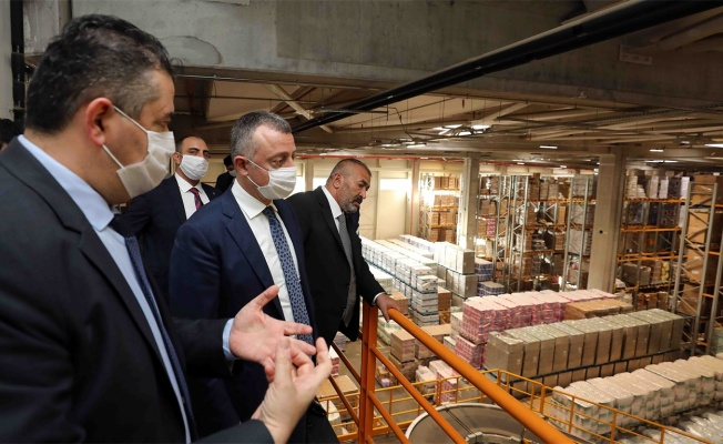 Başkan Büyükakın, Güzeller OSB'yi ziyaret etti