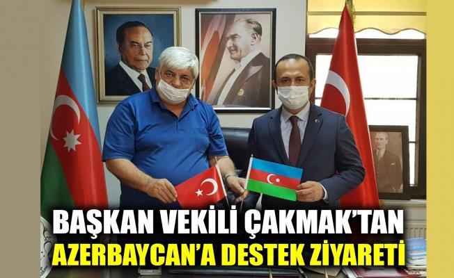 Başkan Vekili Çakmak'tan,  Azerbaycan'a destek ziyareti