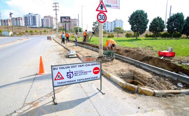 Çayırova'da üst yapı çalışmaları sürüyor