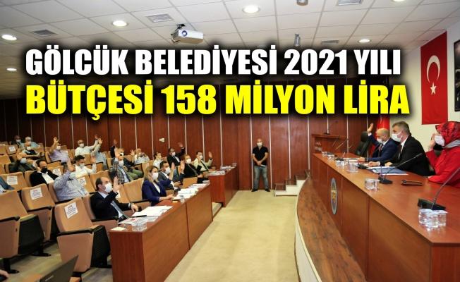 Gölcük Belediyesi 2021 yılı bütçesi 158 milyon lira