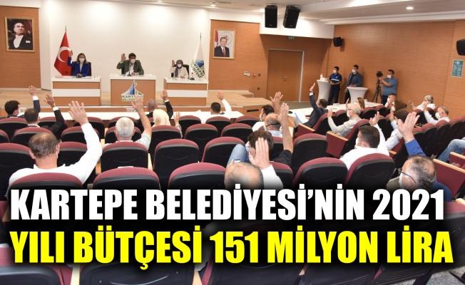 Kartepe Belediyesi'nin 2021 bütçesi 151 milyon lira