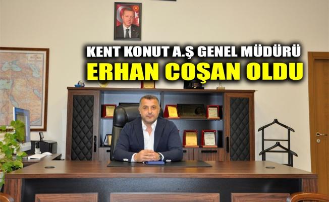 Kent Konut A.Ş Genel Müdürü Erhan Coşan oldu