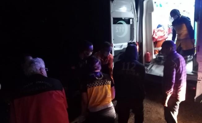 Kocaeli'de ormanda kaybolan iki kişi kurtarıldı