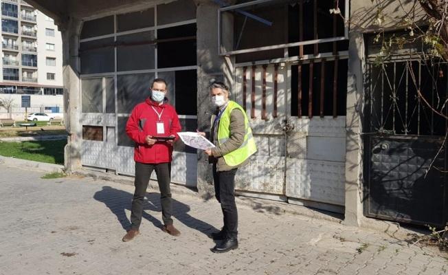 Büyükşehir hasar tespit çalışmaları için İzmir'e mühendis gönderdi