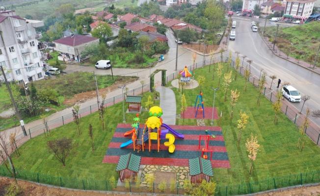 Çayırova'da vatandaşın park talebi 1 haftada yerine getirildi
