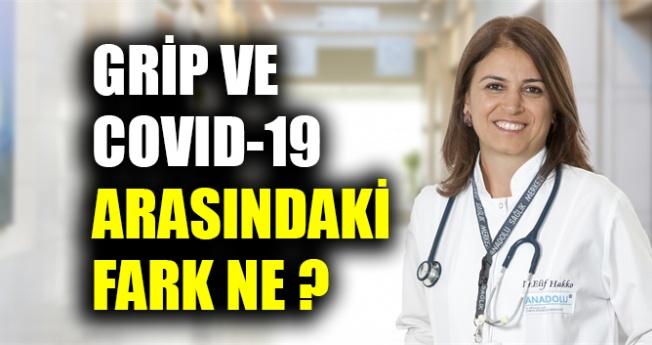 Grip ve COVID-19 arasındaki fark ne ?