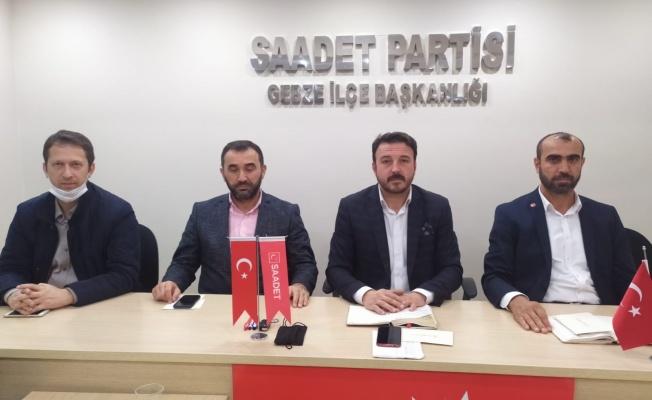 Türel: Saadet Partisi'ne hangi hakla çamur atıyorlar ?