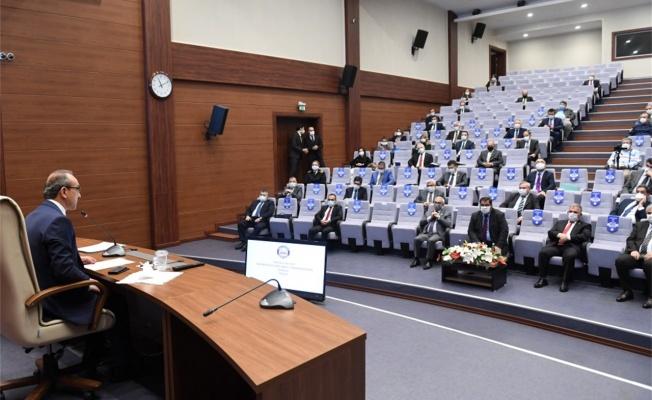 Bağımlılıkla Mücadele Toplantısı, Vali Yavuz'un başkanlığında gerçekleştirildi