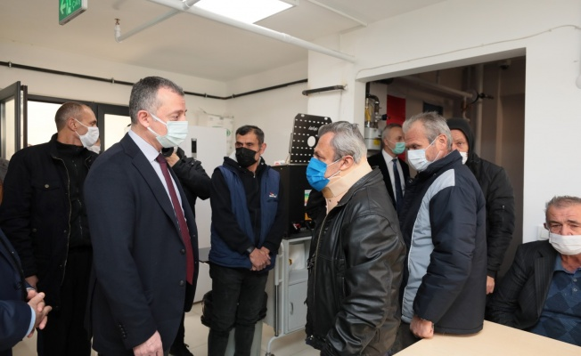 Başkan Büyükakın, Gebze'de yeni hizmete giren barınma evini ziyaret etti