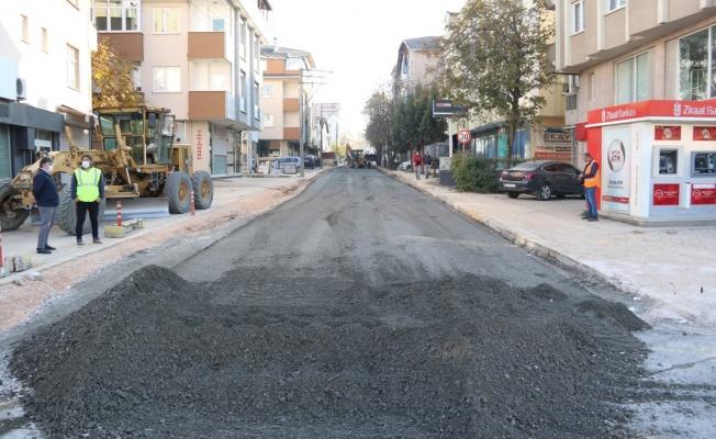 Hafta sonunda Gebze ve Dilovası yolları asfaltlandı