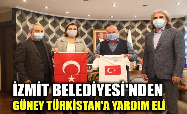 İzmit Belediyesi'nden, Güney Türkistan'a yardım eli