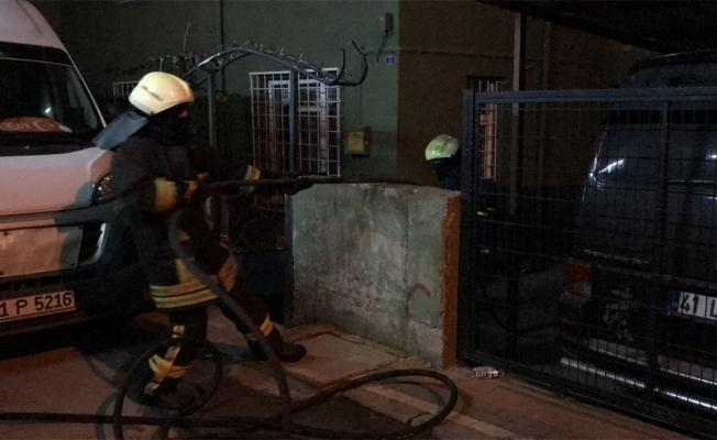 Kocaeli'de tüpten sızan gazın patlaması sonucu 2 kişi yaralandı