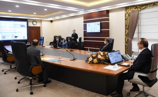 2021 yılının ilk il koordinasyon toplantısı gerçekleştirildi