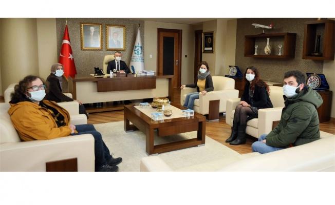 Başkan Büyükakın, KOHAYDER'i konuk etti