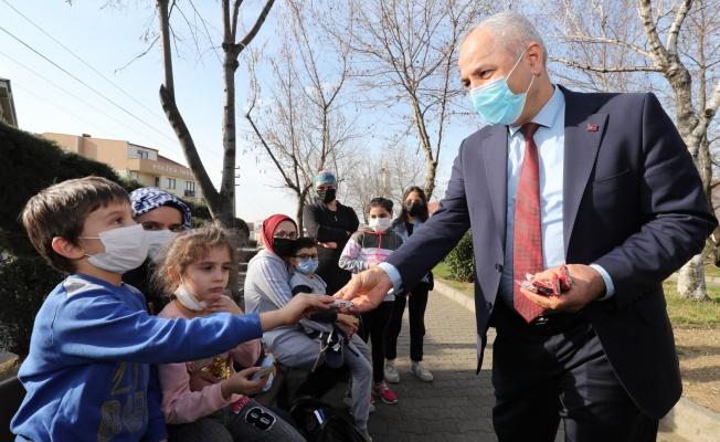 Çocukların Başkan sevgisi