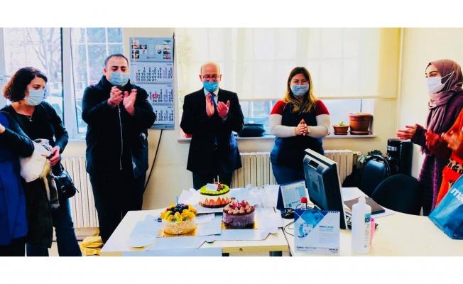 Gebze'de filyasyon ekibine veda programı