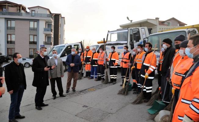 Gölcük Belediyesi tüm mahallelerde temizlik seferberliği başlattı