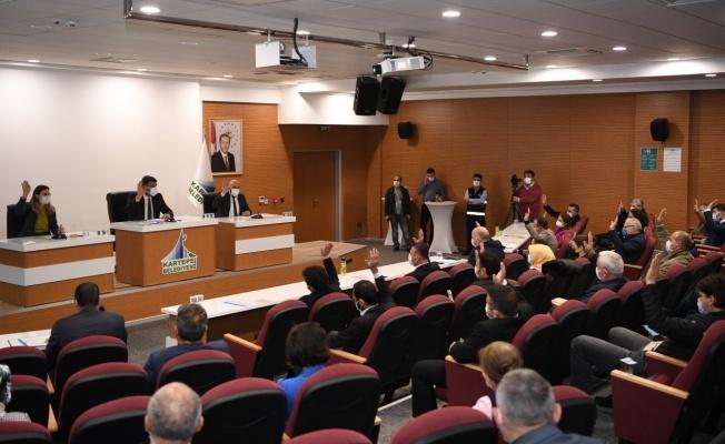 Kartepe'de Ocak ayı Meclis toplantısında 18 madde görüşüldü