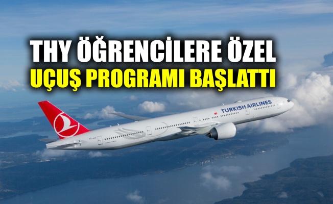 THY öğrencilere özel uçuş programı başlattı