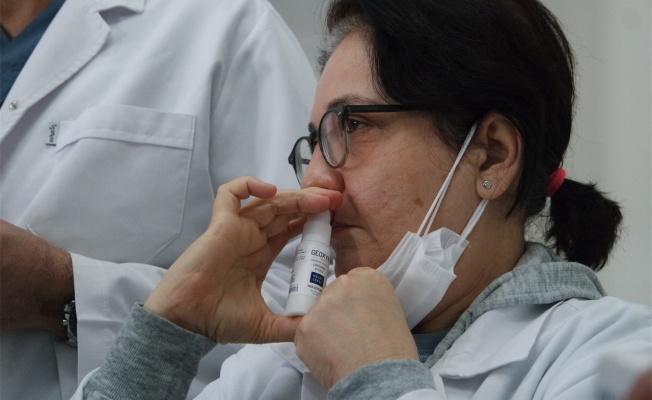 Virüslere karşı etkili ağız ve burun spreyi geliştirildi